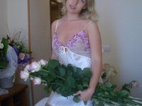 Sexy amateur Russian bride